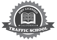 Traffic School Online DMV Licensed Seal